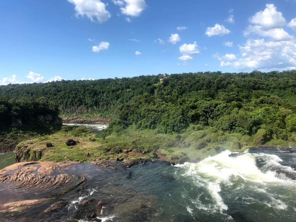 A view from Superior Circuit, Iguazu Falls Argentina