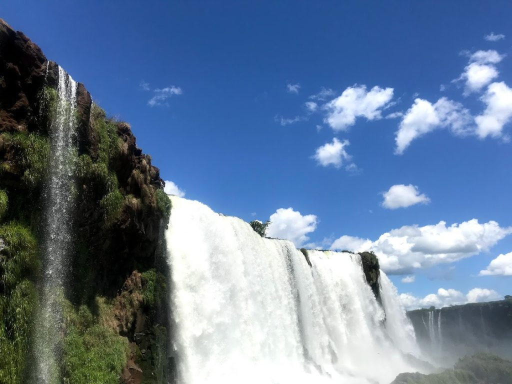 Visiting Iguazu Falls Brazil side