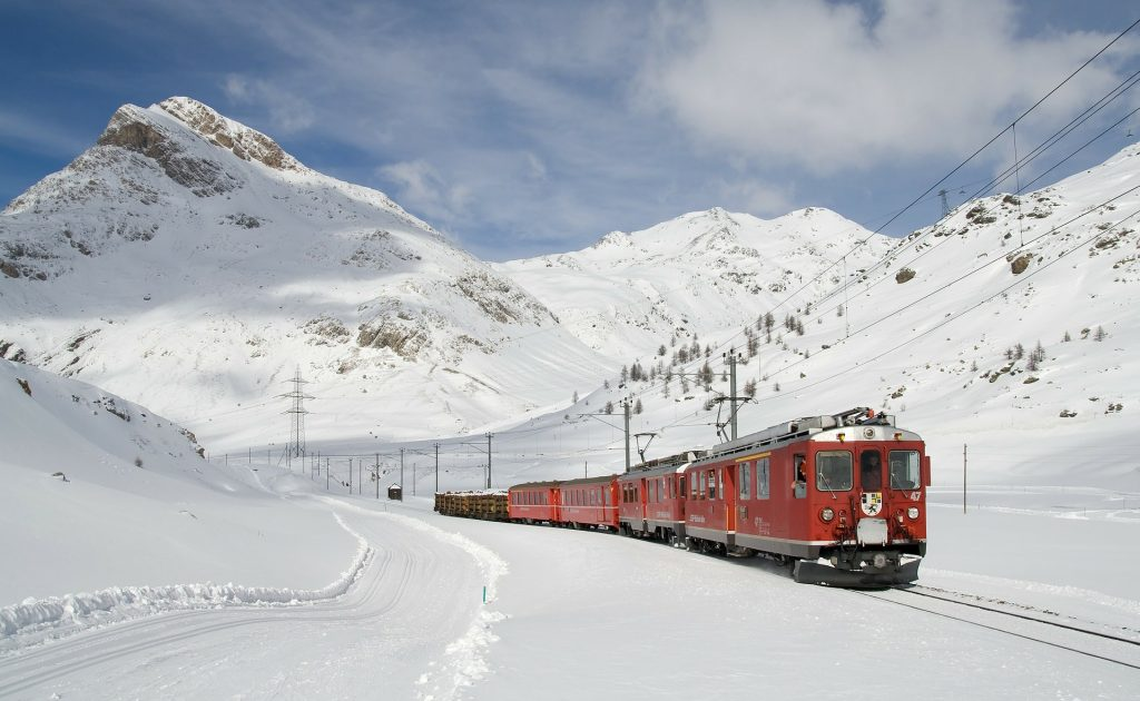 Explore the snowy mountains of Europe on your gap year with interrail