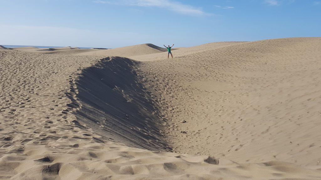 Sand dunes in Grand Canaria
