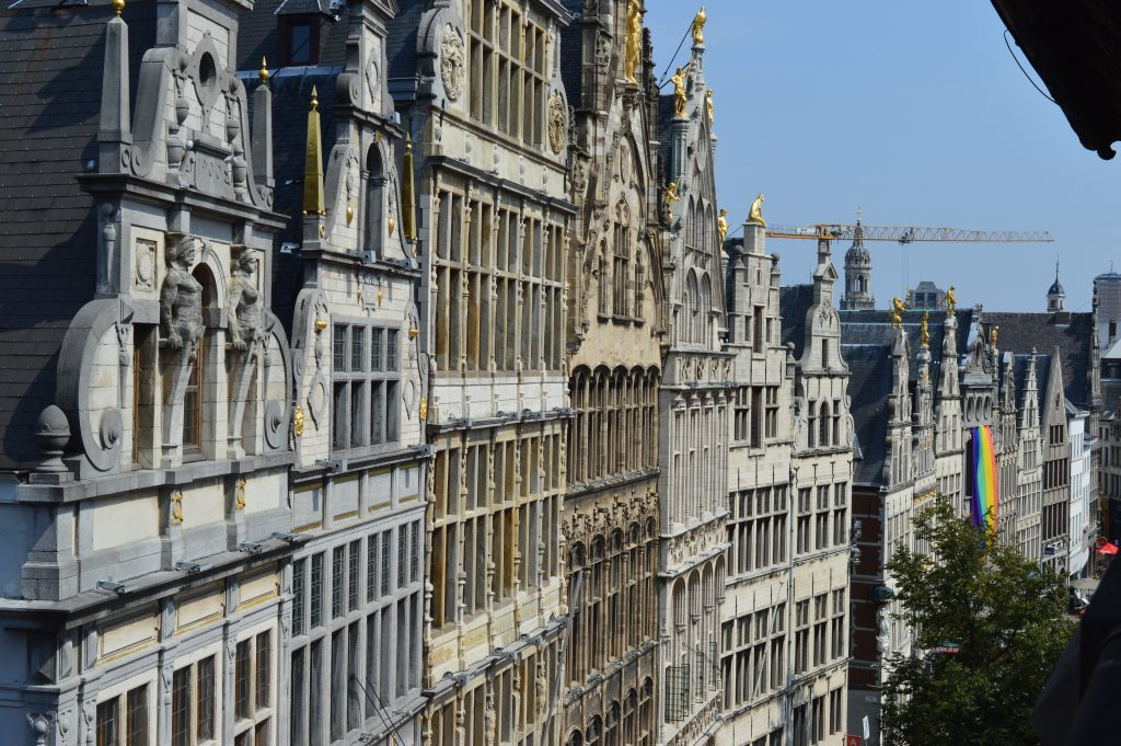 Beautiful architecture in Antwerp