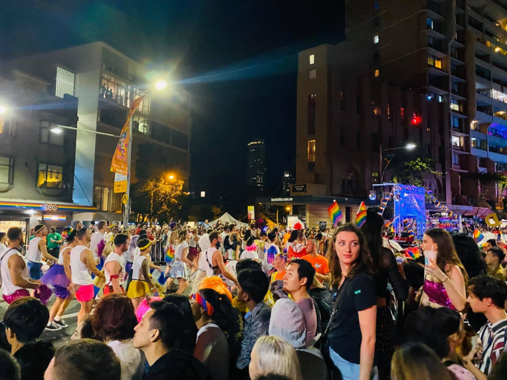 Sydney pride parade - one of many great gay destinations